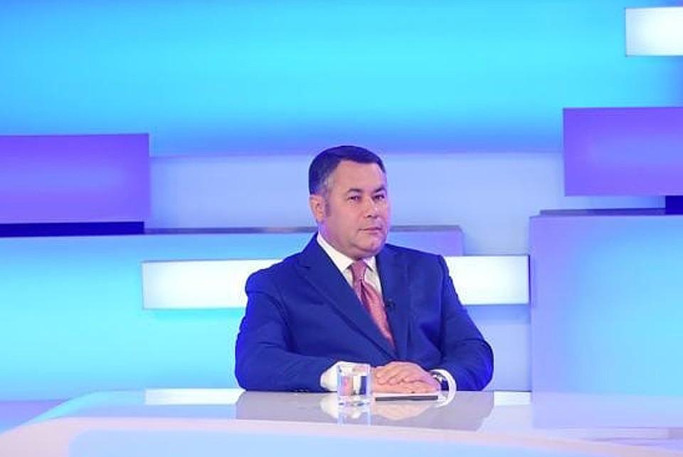 Игорь Руденя сказал, что в регионе все больше жителей хотят вакцинироваться.