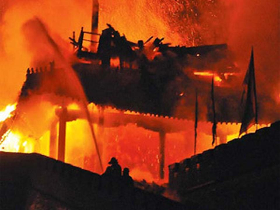 Настоятель храма устроил пожар ради страховки