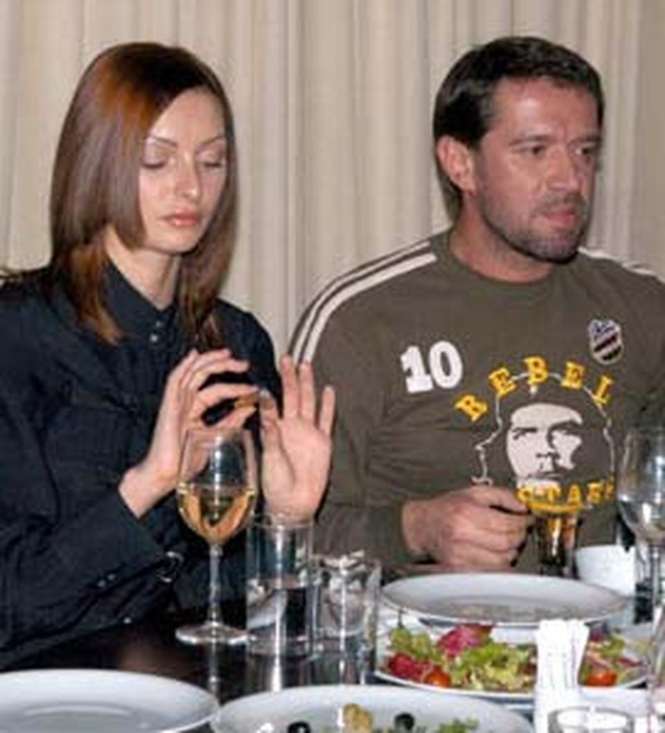 На этот раз Владимир Машков ужинал с Катей.