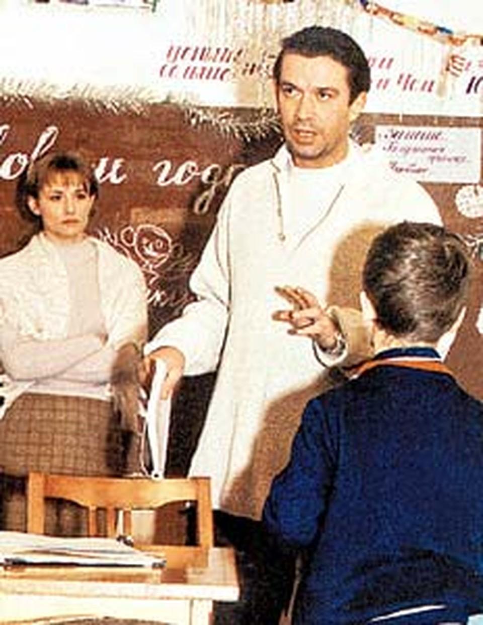 В фильме «Сирота казанская» Машков снял свою первую жену Елену Шевченко.
