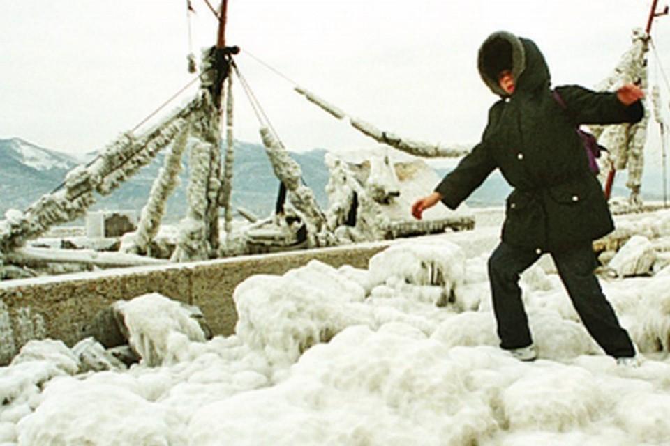 Замерзшее Черное море - это аномалия