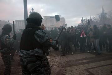 Участникам беспорядков на Манежной огласили обвинительный приговор