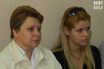 Ирине Добржанской и ее матери не хватило мест в зале суда