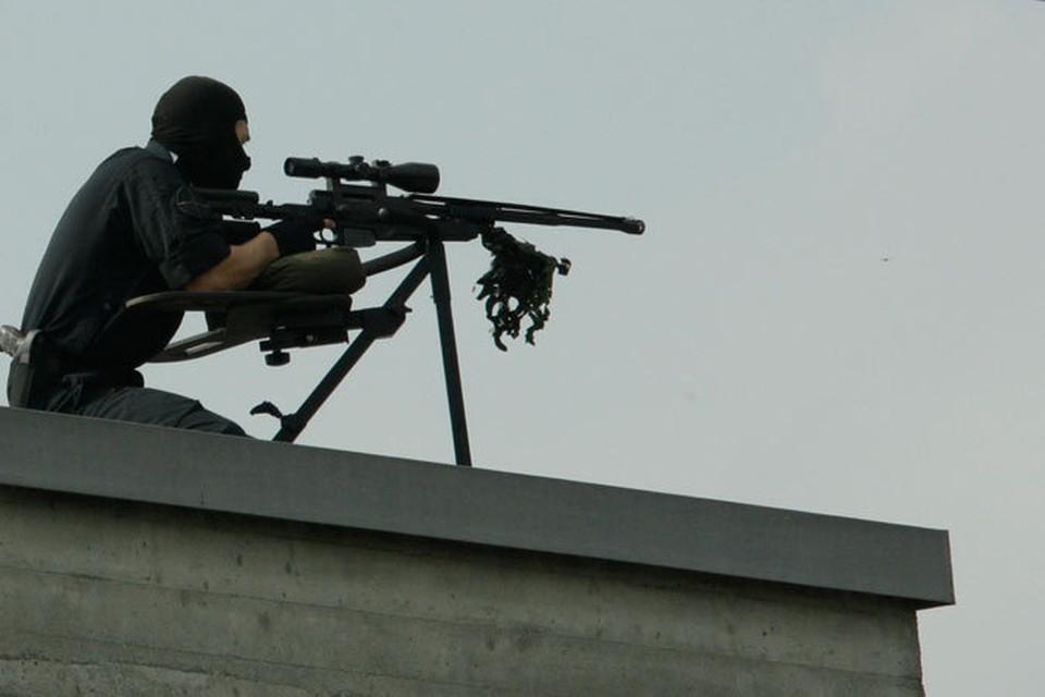 Сколько снайперов будут охранять Ангелу Меркель - неизвестно.