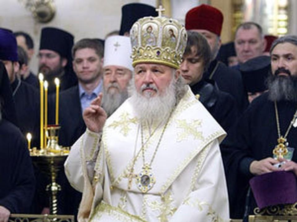Новоизбранный XVI Патриарх Московский и всея Руси Кирилл
