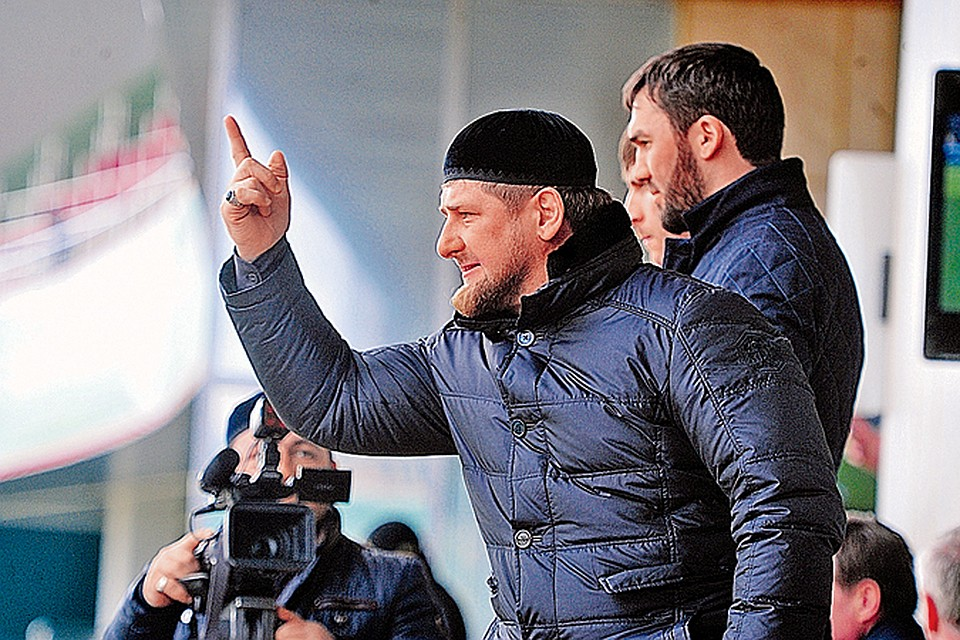 В порнухе слышен чеченский язык