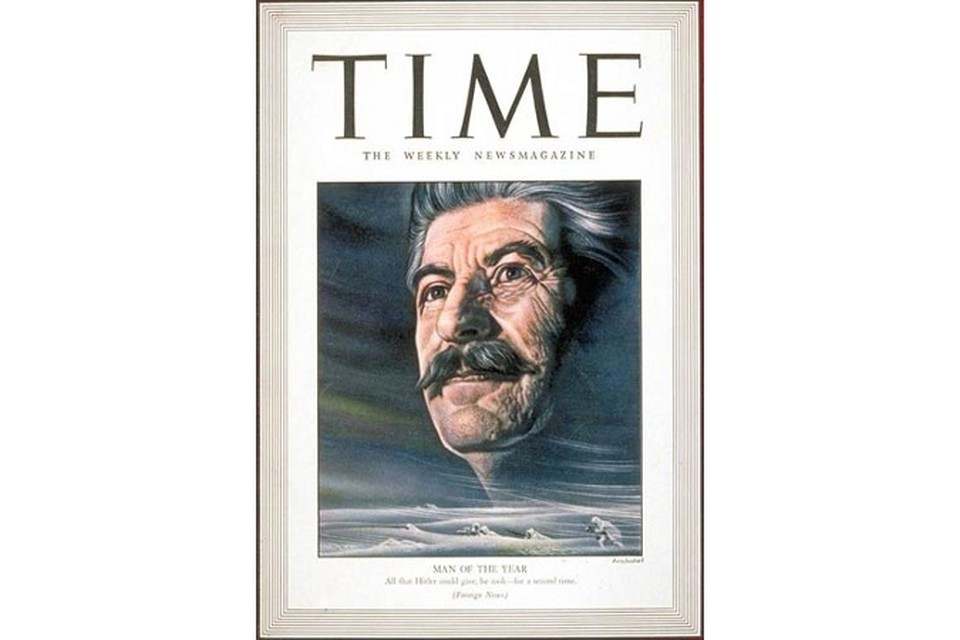 Обложка номера журнала Time от 4 января 1943 года