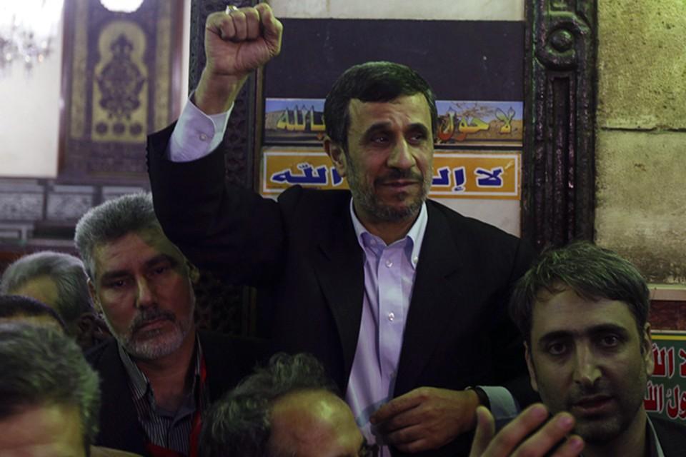 Молодой сириец пытался напасть на Ахмадинежада