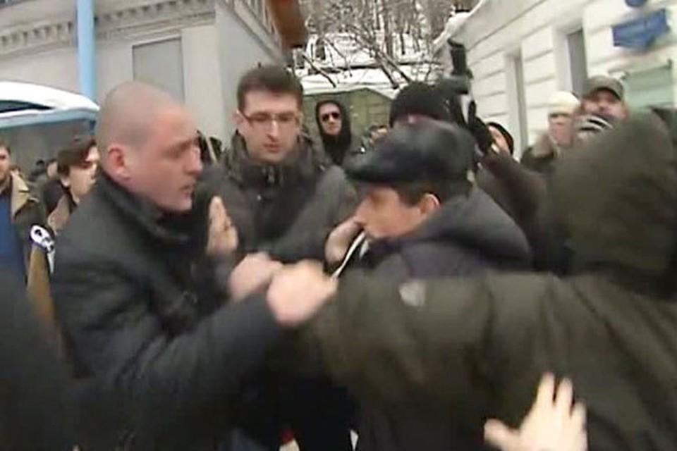 Сергей Удальцов стал причиной драки на прощании с Долматовым