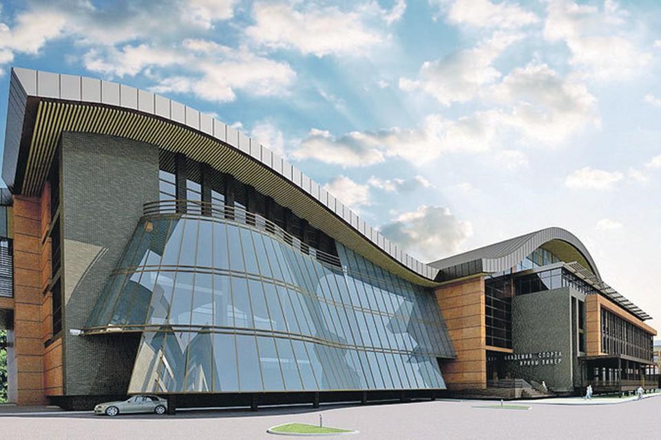 Академия спорта откроет двери в 2014 году.