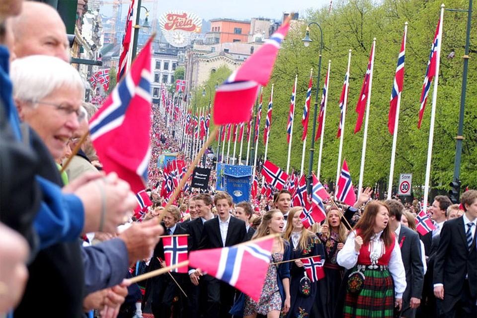как увести человека с норвегии