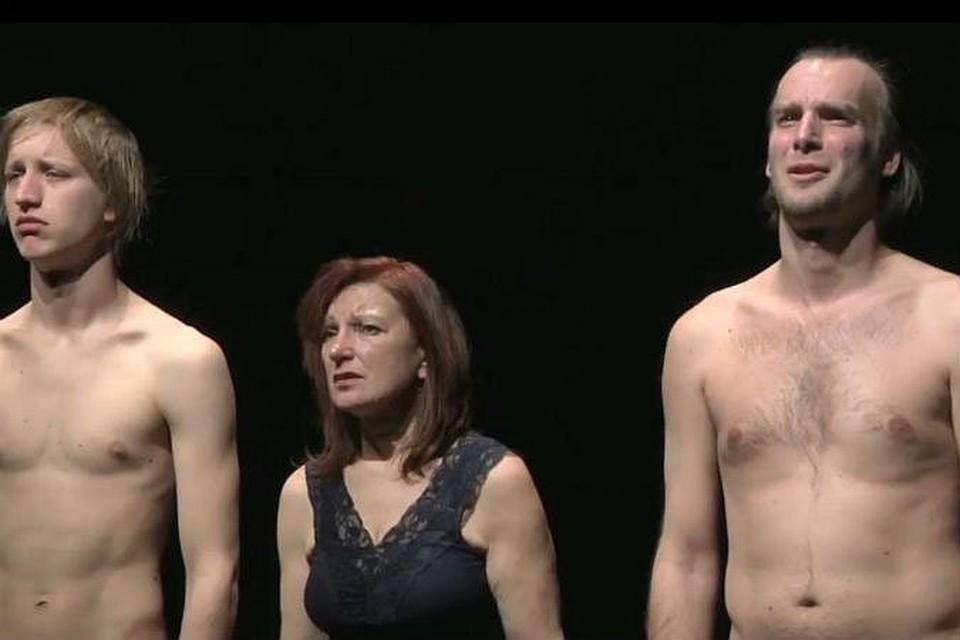 спектакль с голыми актёрами онлайн видео