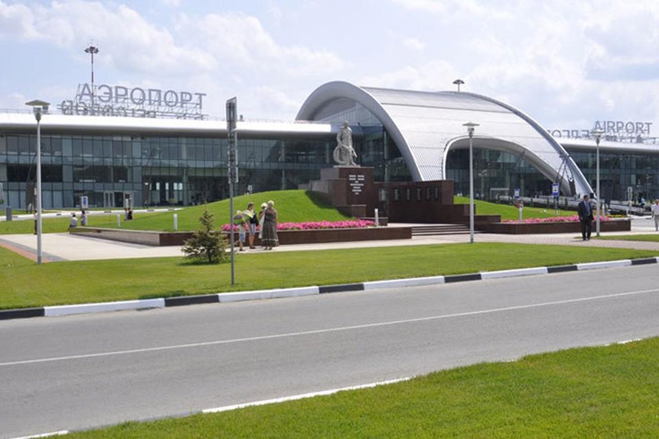 Новое здание аэропорта в Белгороде.
