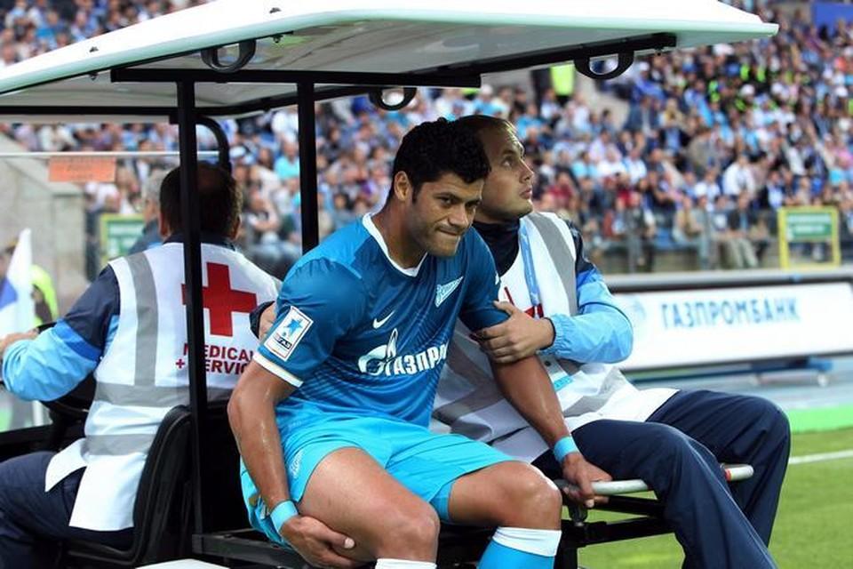 Форвард петербуржцев получил травму, но игрой остался доволен.