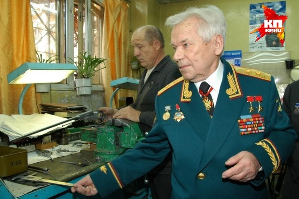 Михаил Калашников вернулся в Ижевск