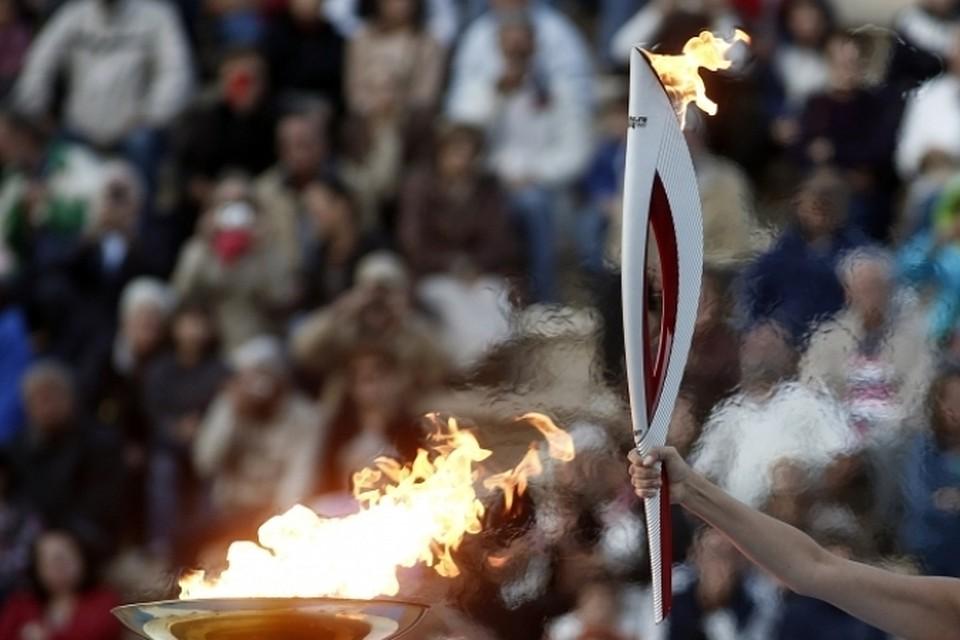 картинка факел олимпийского огня современных игр кухни