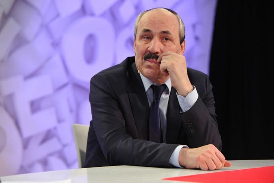 Рамазан Абдулатипов, президент Дагестана.