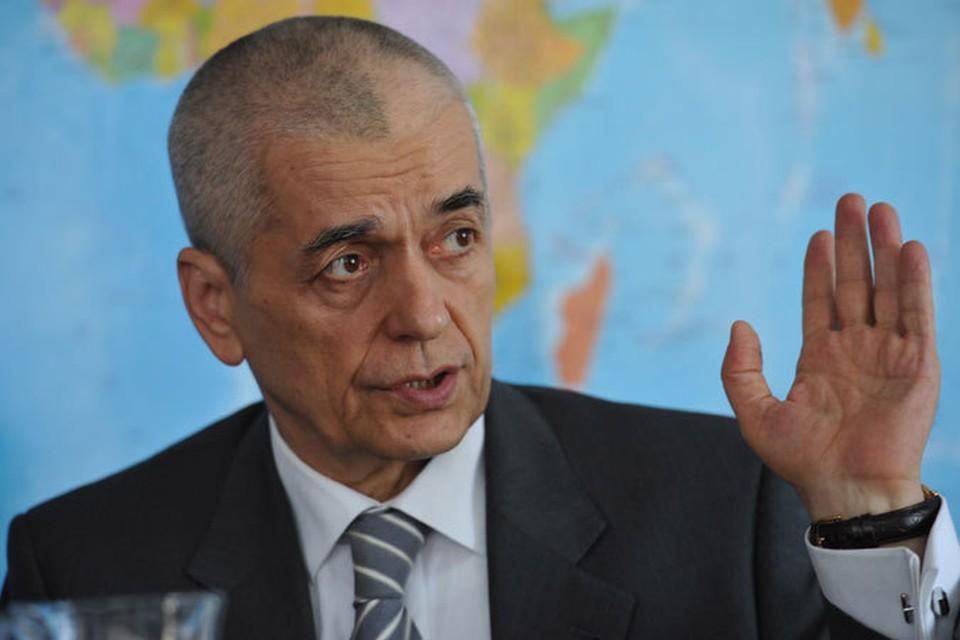 Геннадий Онищенко подвел итог российской инспекции украинской кондитерской фабрики Roshen