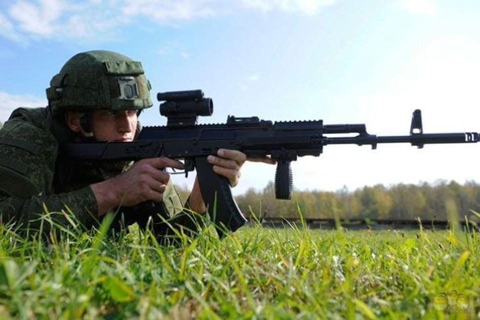 Испытательные стрельбы АК-12 прошли еще в ноябре прошлого года