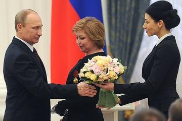 Владимир Путин: «Жаль, что этот зал не может вместить всех, кто работал над Олимпиадой»