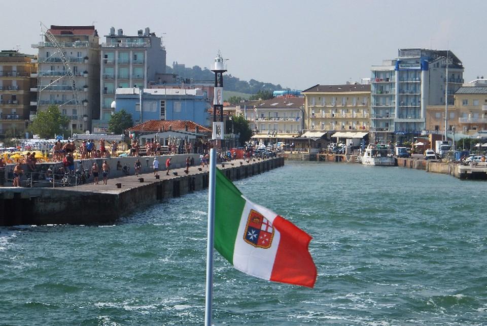 Каттолика, итальянский курорт на Адриатическом море.