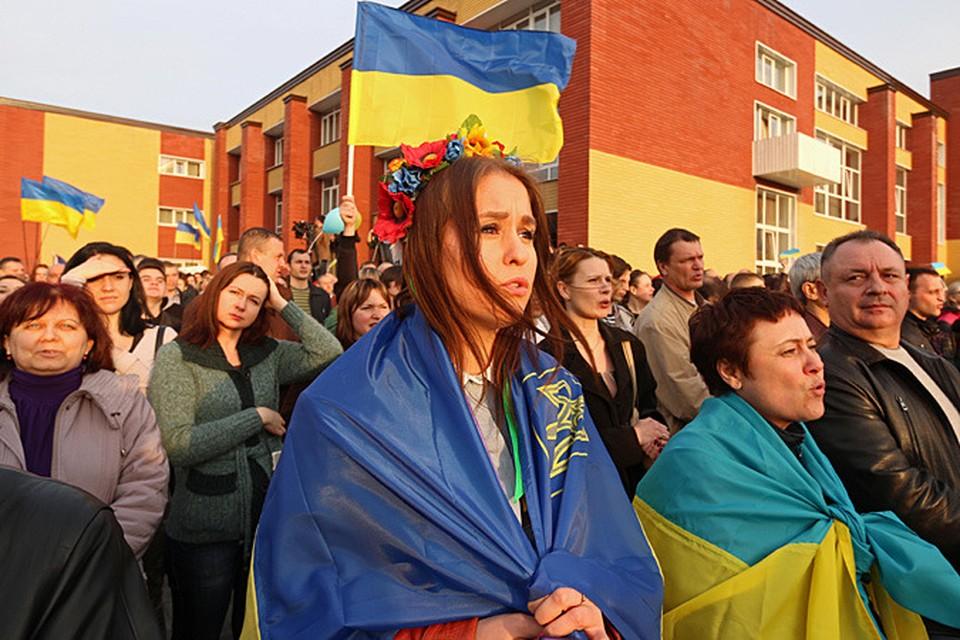 По странному совпадению, мероприятие прошло в Парке Победы, ненавидимой нынешней киевской властью