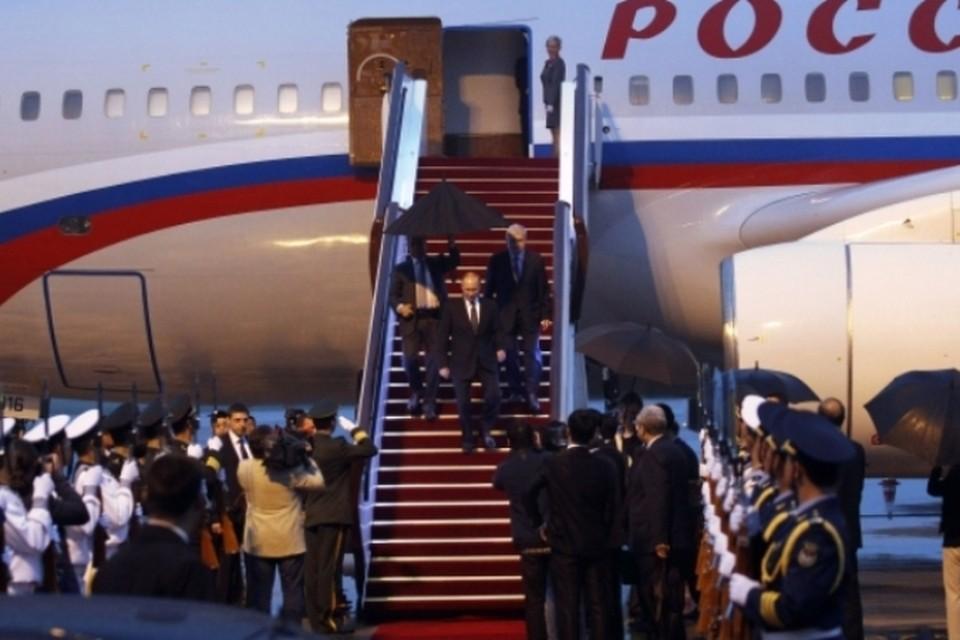 Президент РФ Владимир Путин в Китае проведет ряд двусторонних встреч и примет участие в саммите СВМДА
