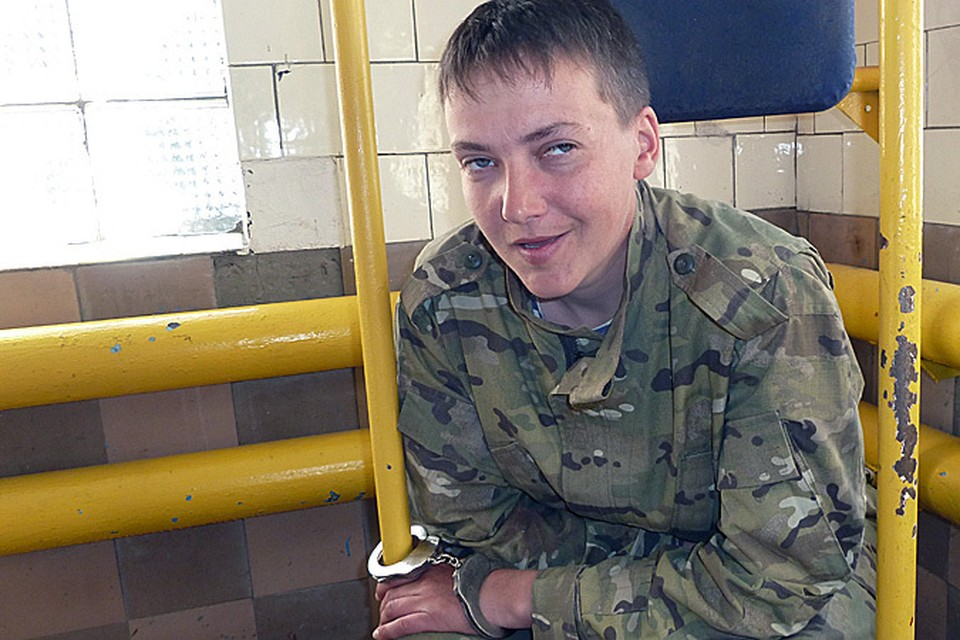 Украинскую летчицу обвинили в причастности к убийству журналистов ВГТРК