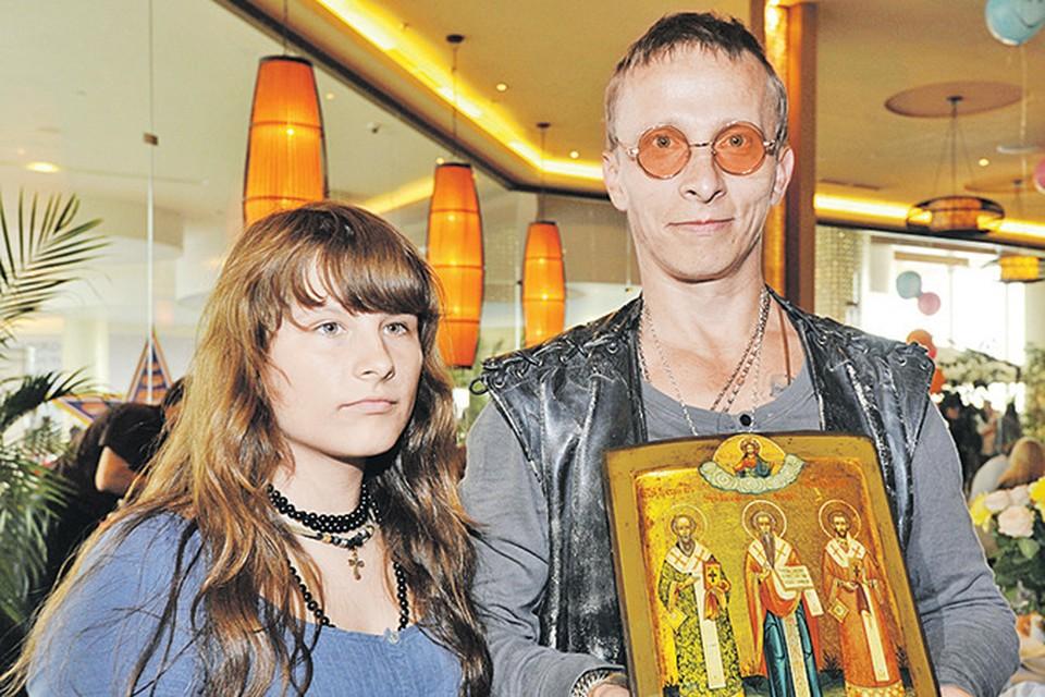 Иван Охлобыстин и Анфиса