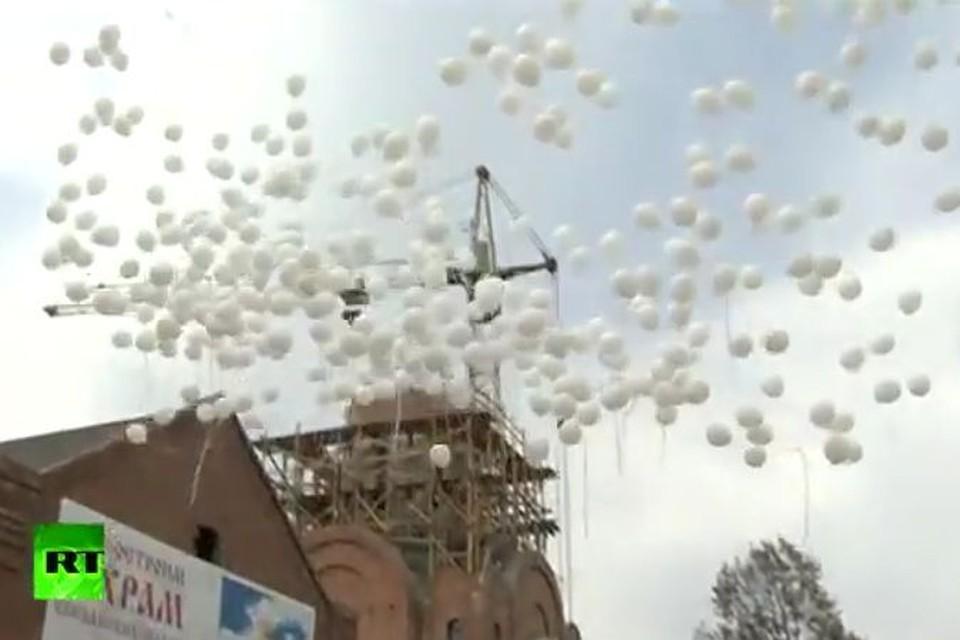 Фото: стопкадр видео телекомпании Russia Today