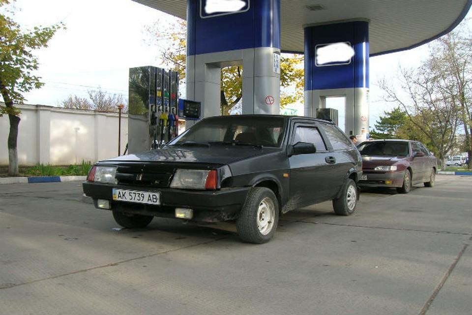 Бензина на некоторых АЗС Симферополя нет уже пятый день