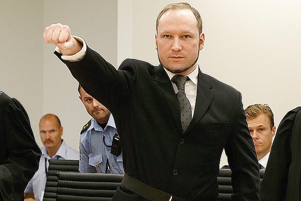 Андерс Брейвик заявил, что встретится с отцом лишь после того, как тот станет фашистом