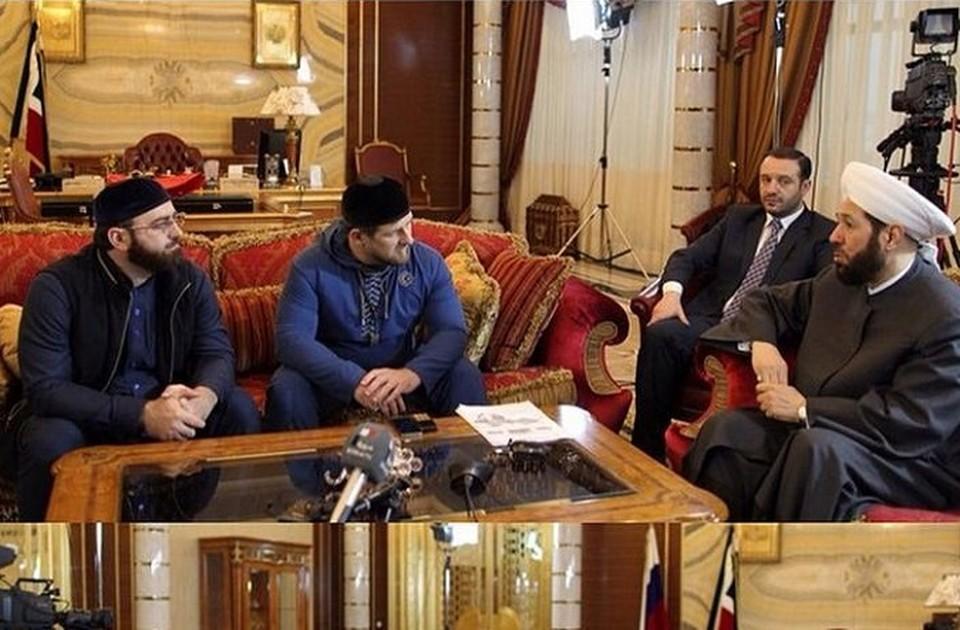 Рамзан Кадыров получил приглашение посетить Сирию