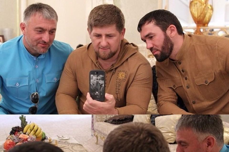 У Рамзана Кадырова появился российский смартфон YotaPhone 2. Фото: instagram.com/kadyrov_95