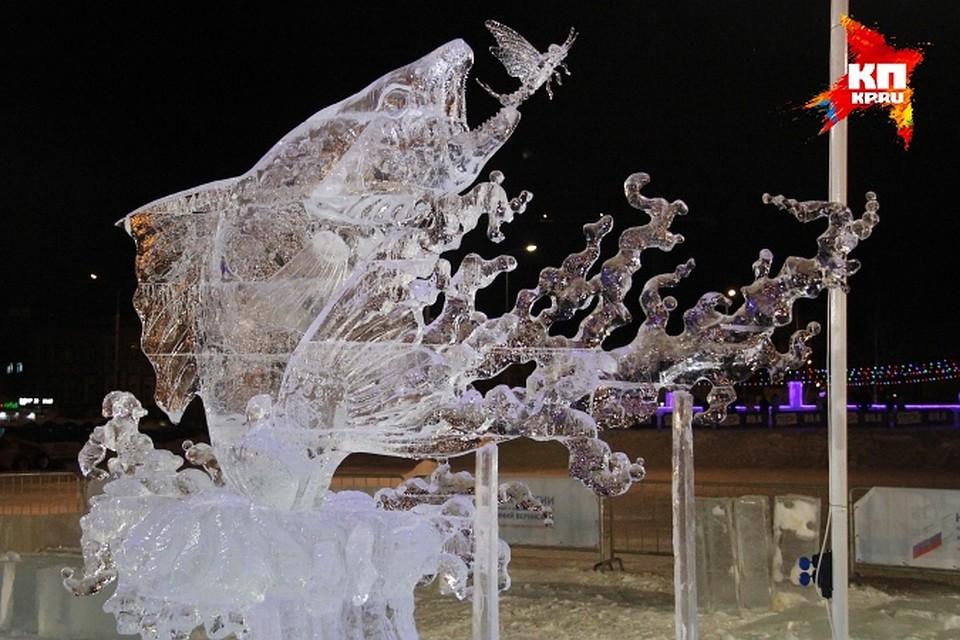 оно конкурс ледяных скульптур в италии только