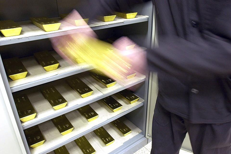 Россия поставила абсолютный рекорд по закупкам золота