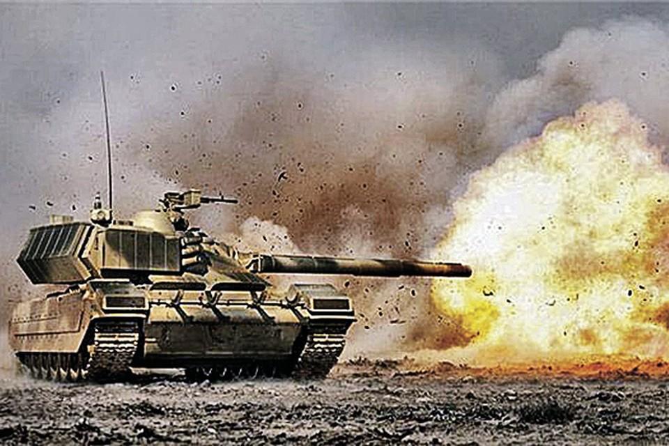 Первая партия танков на новейшей универсальной платформе пройдет на параде в честь 70-летия Победы. Фото: topwar.ru