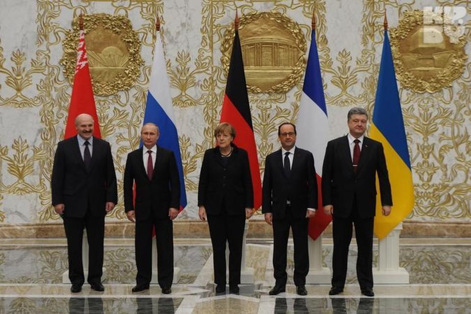 На переговорах во Дворце Независимости дипломатический протокол был полностью соблюден.