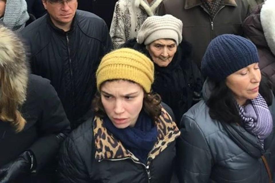 Мать Немцова прошла весь маршрут