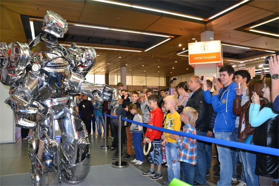 Выставка роботов в екатеринбурге 2017