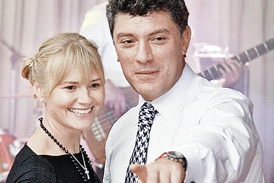 Борис Ефимович с Ириной Королевой. С ней Немцов прожил более 10 лет. Фото: nemtsov.ru