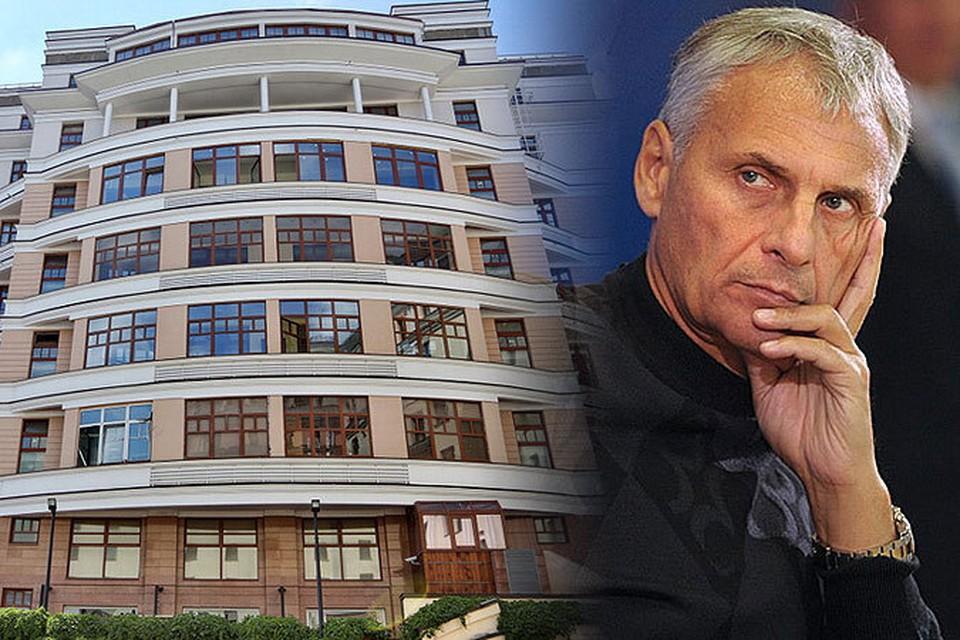 Сын Хорошавина владеет элитной квартирой возле Красной площади, а жена - апартаментами за 85 млн рублей