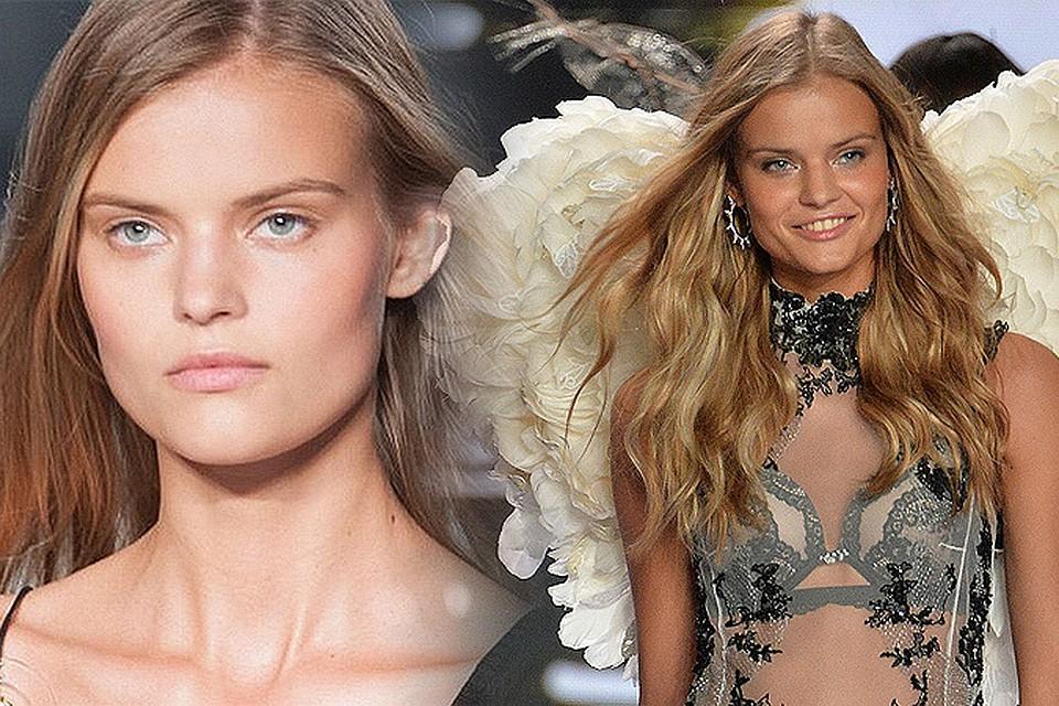 596327b7bc6 Российская модель впервые стала «ангелом» Victoria s Secret