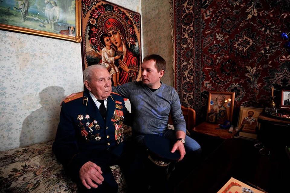 Ветеран Великой Отечественной войны Николай Суриков.