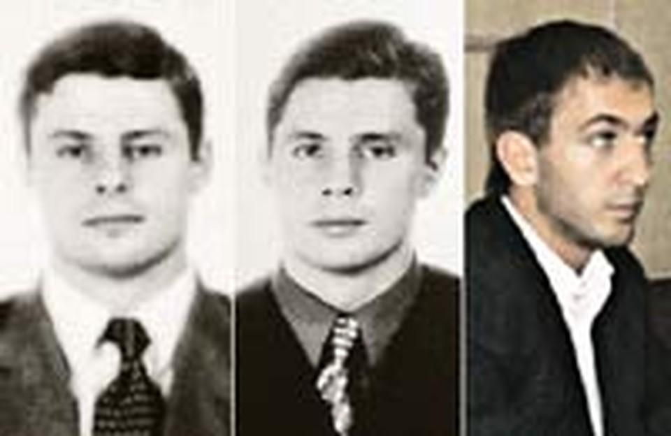 Братья-близнецы Илья (слева) и Антон Вахонины «развлекались» вместе. Влад Герасимович был третьим в этой компании.
