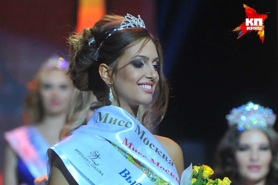 Самой красивой девушкой столицы стала 22-летняя студентка Оксана Воеводина