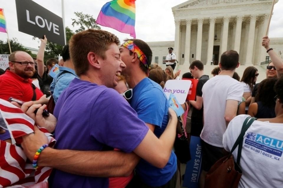 Верховный суд США постановил легализовать однополые браки на всей территории страны