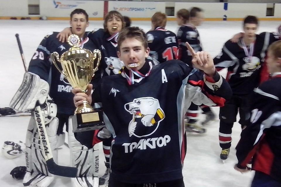 Яков Тренин: «Хочу пробиться в «Нэшвилл» и выиграть Кубок Стэнли». Фото: из личного архива
