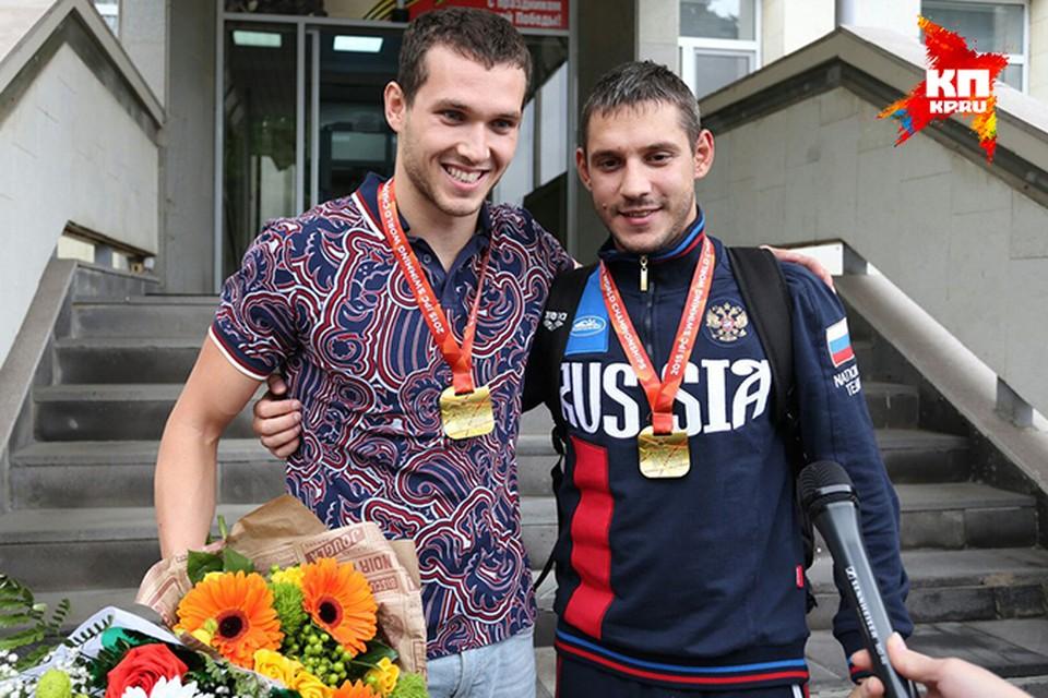 В Саратов вернулись пловцы, завоевавшие восемь золотых медалей на чемпионате мира