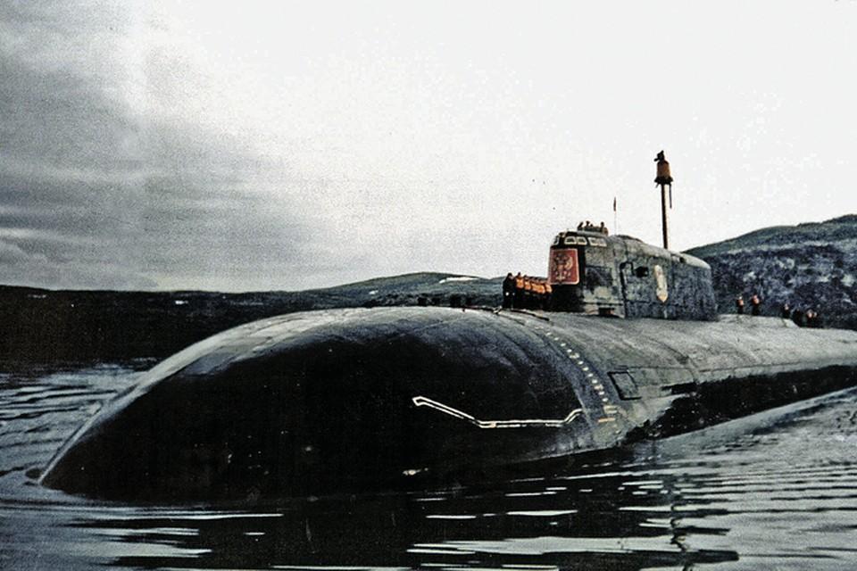 Атомоход «Курск» за несколько месяцев до трагедии.
